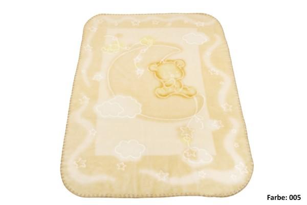 Forster Plaids Babydecke BABY PERLA N, 85% Polyacryl, 15% Polyester