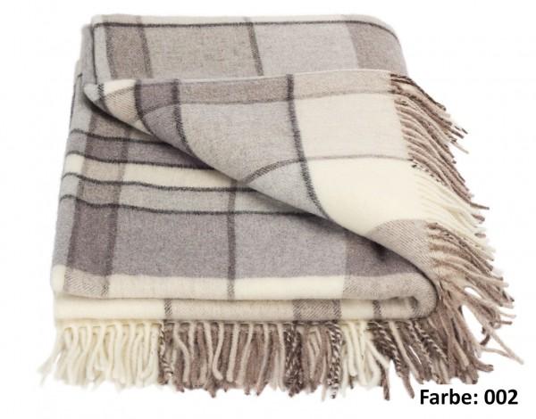 Forster Plaids Wohndecke KENT, 100% Lambswool