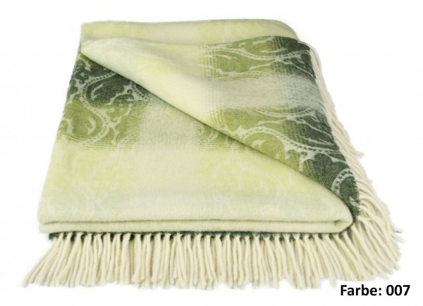 Forster Plaids Wohndecke ROM, 100% Lambswool
