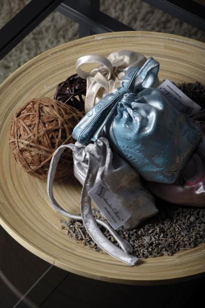 Seidenweber Collection Seiden - Lavendelsäckchen mit echtem französischem Lavendel
